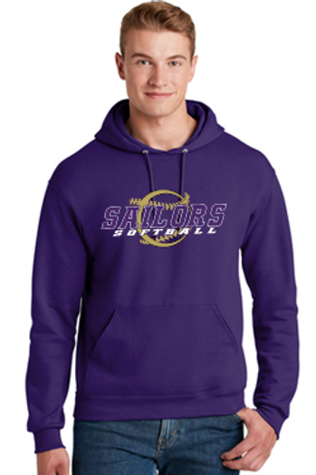 Purple Unisex and Youth Hoodie