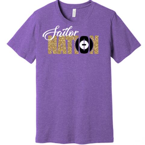 Sailor Nation Wrestling T Shirt
