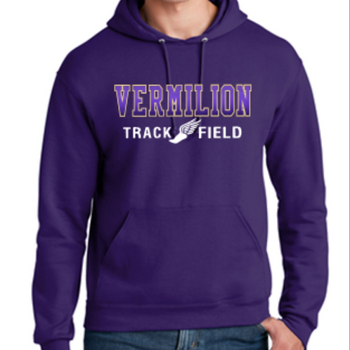 Purple Fade Basic Hoodie Youth and Adult