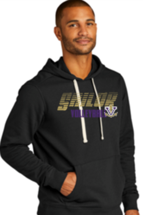 Volleyball Fashion Hoodie  Unisex or Youth  56 DT5100SM