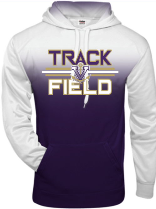 Track Ombre Performance Hoodie