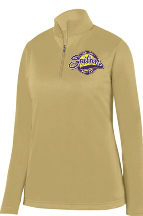 Ladies  or YOUTH 1/4 Basic Performance Fleece Pullover