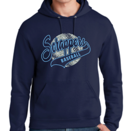 Scrappers Glitter Hoodie Youth and Adult
