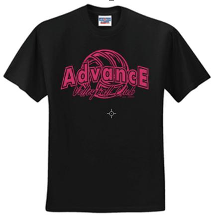 Unisex Short Sleeve Advance Logo