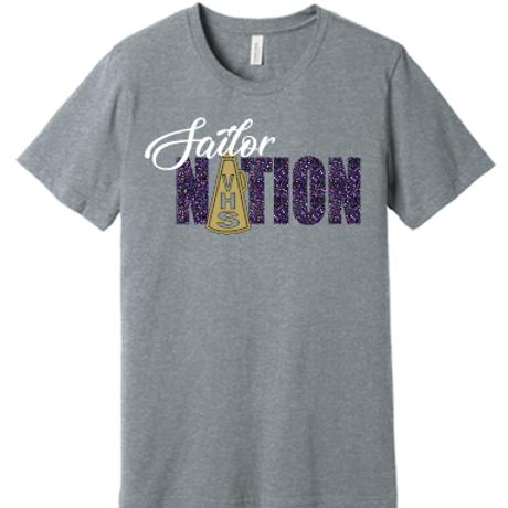 Sailor Nation Cheer T Shirt