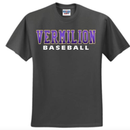 Short Sleeve Baseball Purple Fade Basic Unisex or Youth Sailor