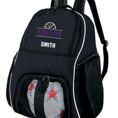 Sport Backpack with shoe/ball pouch