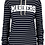 Thumbnail: Mariner Ladies Stripe French Terry Hoodie
