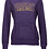 Thumbnail: Sailor Fan Ladies Burnout Fleece Hoodie