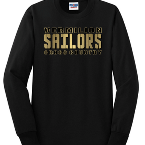New 2020 Cross Country Basic Unisex or Youth Sailor Gold Logo