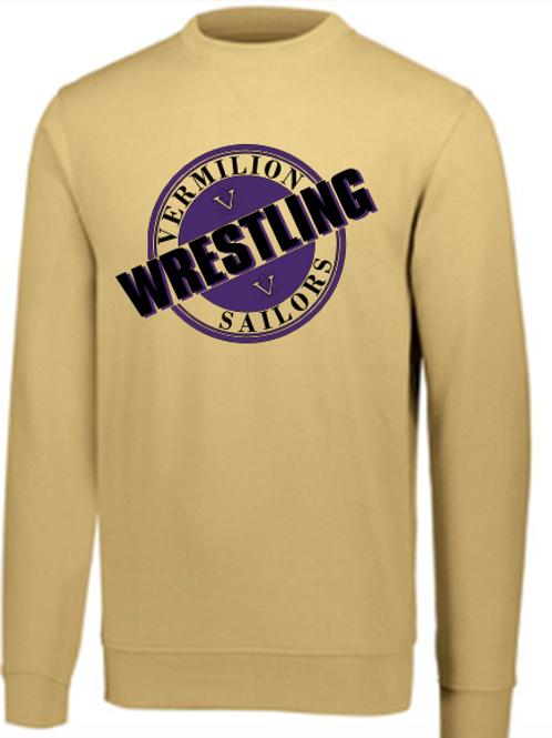 Sailor Wrestling Crew Neck Sweatshirt Circle logo
