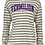 Thumbnail: Ladies Stripe French Terry Hoodie