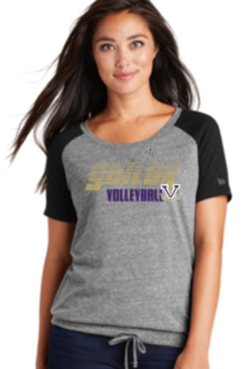 VB Raglan Cinch Waist T-shirt  49LNEA133SM