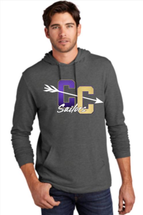 Sailor CC Block Lightweight T-shirt Hoodie