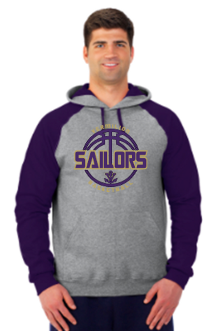 Unisex Hoodie Sweatshirt Basketball Ball logo