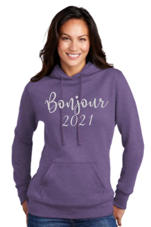 Ladies Bonjour 2021 Sweatshirt