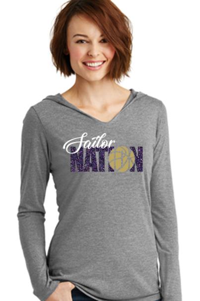 Sailor Nation Basketball T Shirt Hoodie