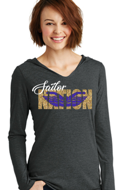 Sailor Nation Swim T Shirt Hoodie
