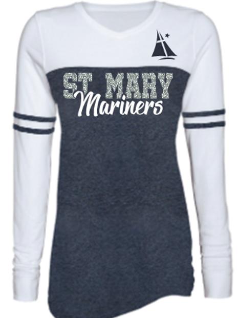 Mariner Ladies Varsity T-Shirt