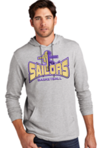 Sailor Basketball Block Lightweight T-shirt Hoodie