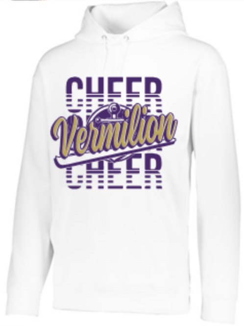 GLITTER Cheer Performance Hoodie   Unisex or Youth 9-F244 SM