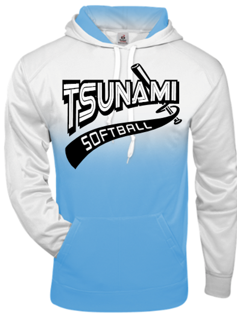 TSUNAMI Ombre Performance Hoodie