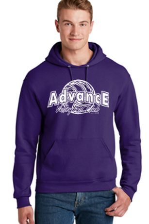 Unisex and Youth Hoodie Advance Logo