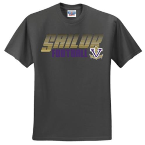 Football Classic Short or Long Sleeve Basic Unisex or Youth Sailor T-Shirt