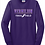 Thumbnail: Long sleeve Purple Fade Track Basic Unisex or Youth Sailor