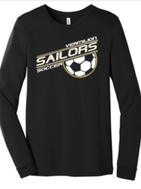 Soccer Premium Tri blend Short or Long Sleeve T