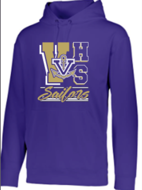 Vermilion Performance Hoodie   Unisex or Youth