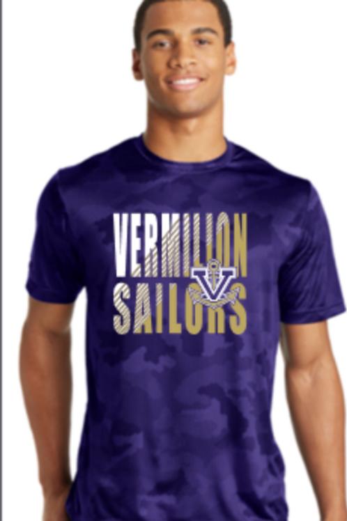 Vermilion Camo Performance Unisex T-shirt