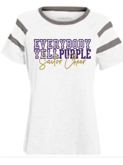 Yell Purple Jersey