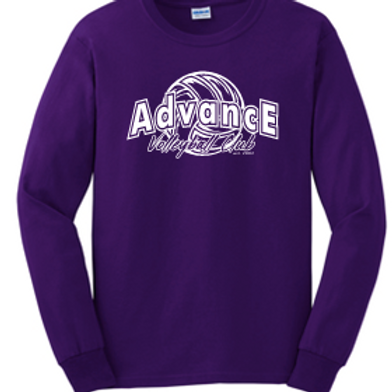 Unisex Long Sleeve Advance Logo