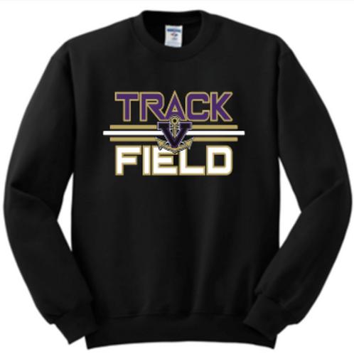 Track & Field Fleece Crew Track Basic Unisex or Youth Sailor
