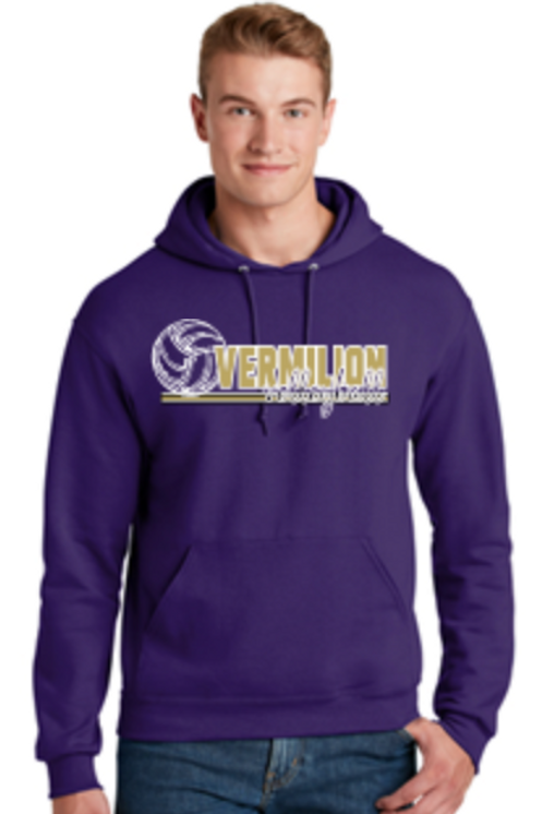 Volleyball  Fleece Crew or Hoodie  Unisex or Youth Sailor