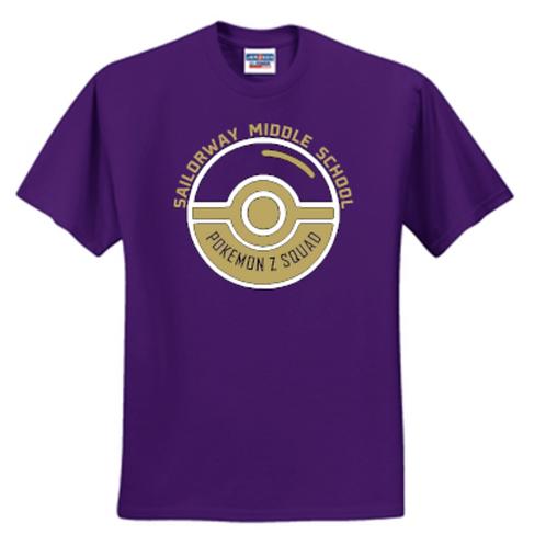 SMS Pokemon Squad Unisex or Youth Sailor T-Shirt