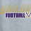 Thumbnail: Football Classic Fleece Crew or Hoodie  Unisex or Youth Sailor