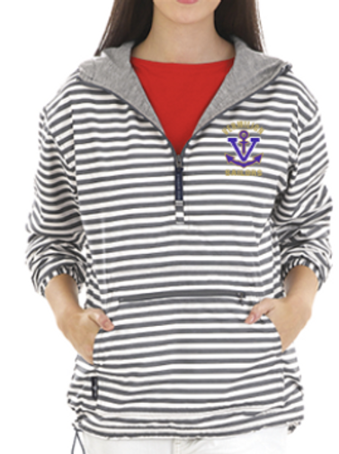 Wind and Waterproof Stripe pull over