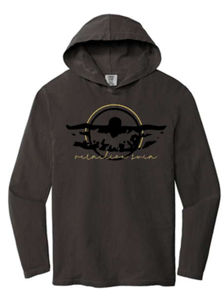 Unisex Long Sleeve Swim T Shirt Hoodie