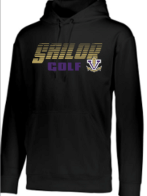 Golf  Performance Hoodie   Unisex or Youth