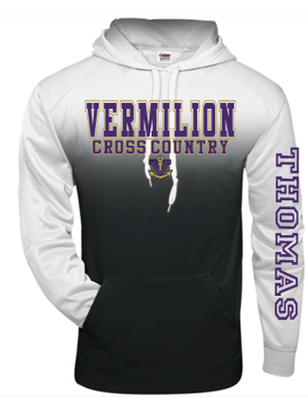 Cross Country Ombre Performance Hoodie