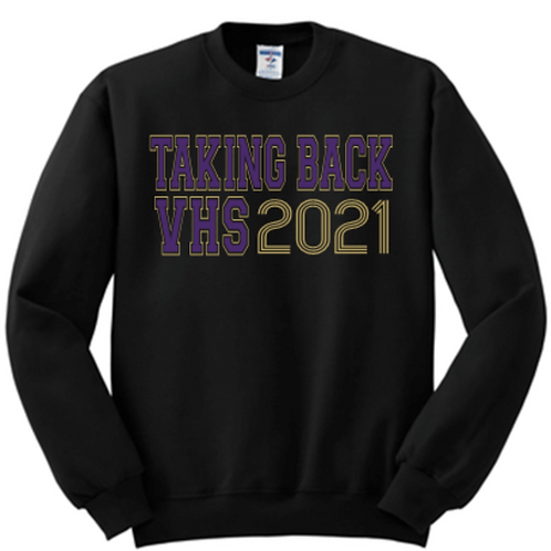Taking Back VHS Hoodie or Crewneck Fleece