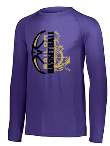 Sailor Basketball Performance Long Sleeve