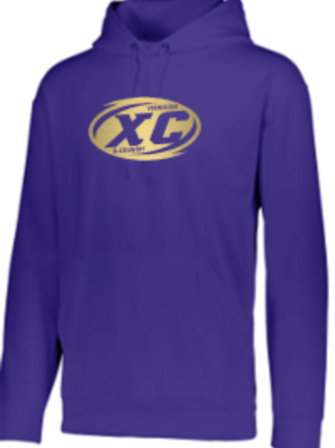 Cross Country Performance Hoodie   Unisex or Youth
