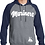 Thumbnail: Navy/Charcoal Unisex  Hoodie