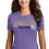 Thumbnail: Volleyball Premium Tri Blend Ladies V-Neck or Crew T 50 DM130L/1350L