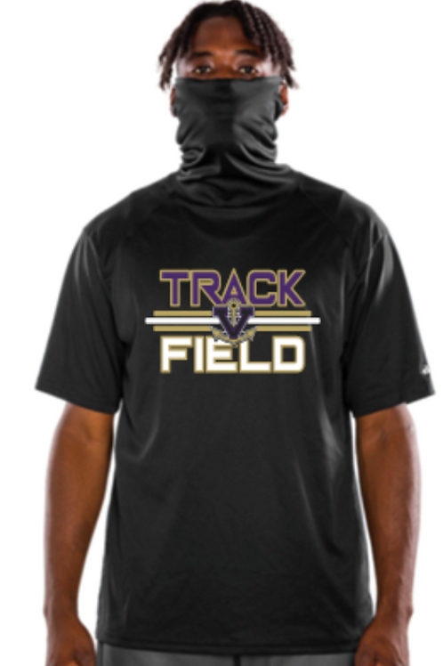 Track Performance Mask T-Shirt
