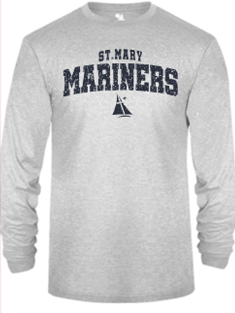 Youth  Mariners TriBlend Long Sleeve T-Shirt