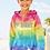 Thumbnail: Girls Burnout Rainbow  Hoodie